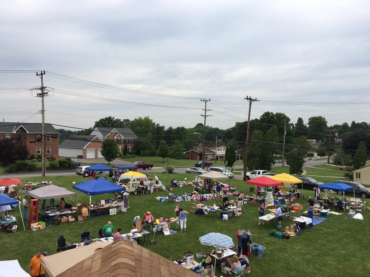 Community Annual Yard Sale 2016